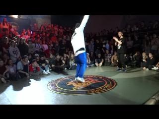 Hip-hop Pro 1/4 Тёма Сидоров (уин) - Нюта Василенко