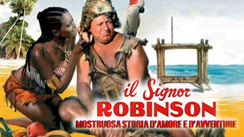 Il signor Robinson, mostruosa storia damore e davventure - Синьор Робинзон, чудовищная история любви и приключений