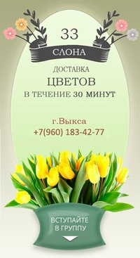 Доставка цветов по выксе доставка цветов в ассортименте