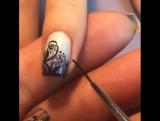Орнамент на ногтях