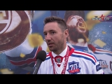 Илья Ковальчук на чемпионском параде СКА