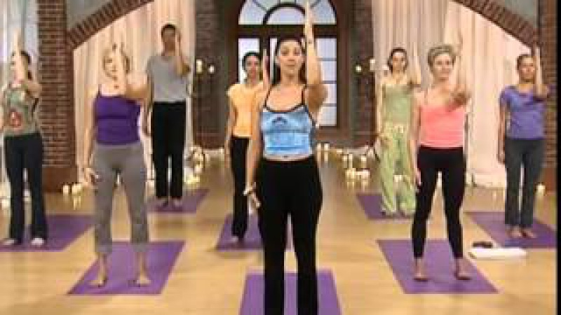 Sara Ivanhoe - Crunch 01 - Candlelight Yoga