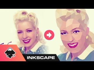 Inkscape Tutorial: Low Poly Portrait