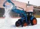 RASCO - оборудование для уборки снега и льда на многоцелевом тракторе АГРОМАШ-85ТК 1...