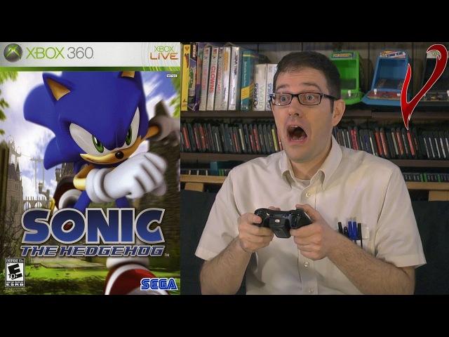 Sonic the Hedgehog 2006 (Xbox 360) [AVGN 145 - RUS RVV]