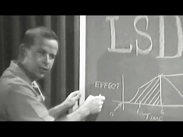 LSD 1967 US Navy Training Film Psychedelic Hallucinogen Lecture by Dr. Walt Miner