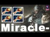 Miracle- Dota 2 Kunkka Friends Party Game 4 Rapier 8k Trash #dota2