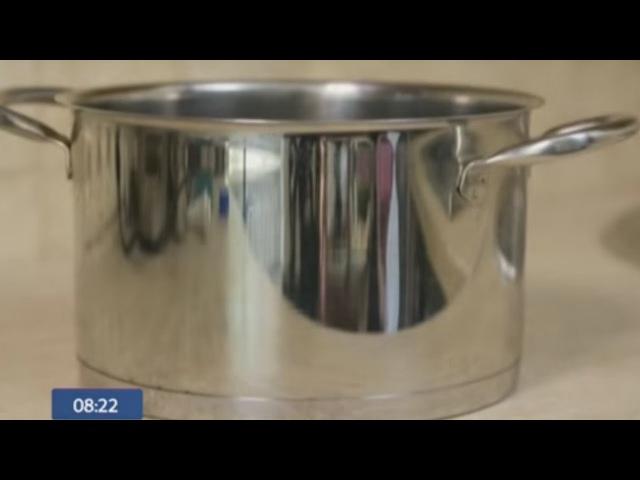 Как очистить нержавеющую посуду - лучшие способы! - Утро с Интером