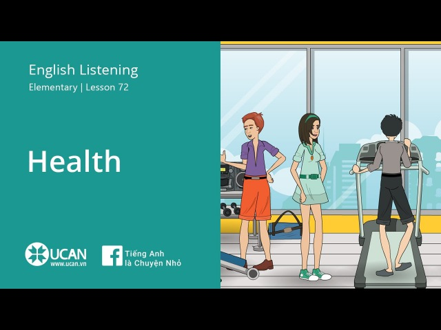 Learn English Listening | Elementary - Lesson 72. Health
