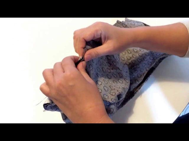ダウンジャケットのリバーシブルの作り方 手作り犬服