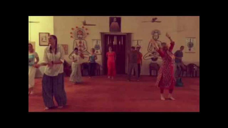 Ришикеш - Индия, Танец Шивы с Ом Ананда