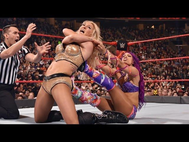 SBMKV_Video | WWE RAW 27.03.17: Bayley Sasha Banks vs Nia Jax Charlotte Flair