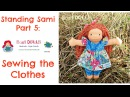 DIY   Dress and bloomers for Waldorf/ cloth dolls  Step by Step Instructions