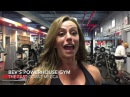 Ms. Physique Olympia Juliana Malacarne trains arms