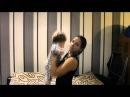 Упражнение для рук и спины для мам! Жим малыша вверх в позиции стоя.