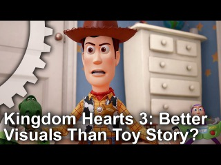 Games vs CG Movies! Kingdom Hearts 3 vs Toy Story Graphics Comparison