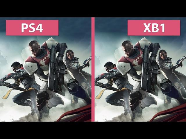 Destiny 2 Beta – PS4 vs. Xbox One Frame Rate Test Graphics Comparison