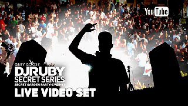 DJ Ruby Live Video Set at Secret Garden Party, Attard Malta 07-05-17