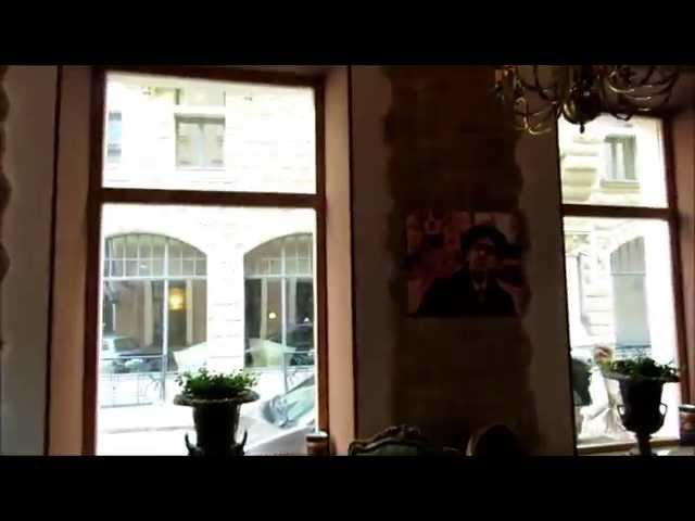 Достопримечательности Риги: Блюменштрассе на Бейкер стрит.