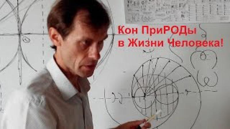 КОН ПРИРОДЫ в Жизни Человека! 06.09.16