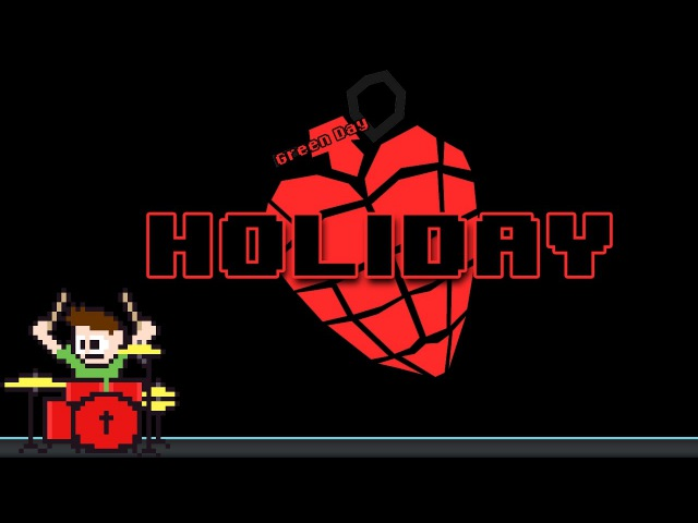 Green Day - Holiday (Drum Vocal Cover) -- The8BitDrummer