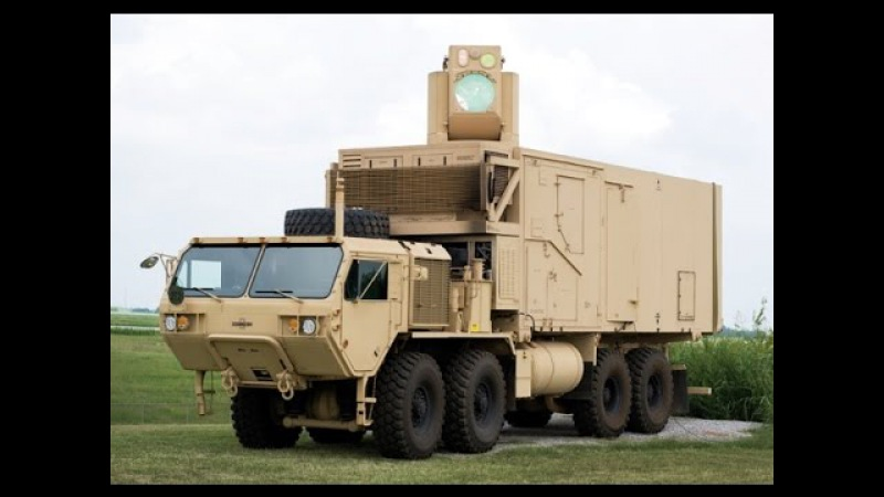 New Laser Weapon System for the U.S Army - Boeing - High Energy Laser Mobile Demonstrator (HEL MD)