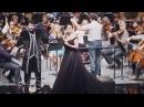 Behind the gown; Anna Netrebko as Manon Lescaut