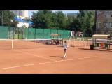 Школа тенниса Олимпийской деревни 80 Старший тренер Антон Иванов Встреча с учениками в Саратове