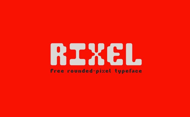 Rixel шрифт скачать бесплатно