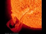 A Huge Solar Filaments Erupts