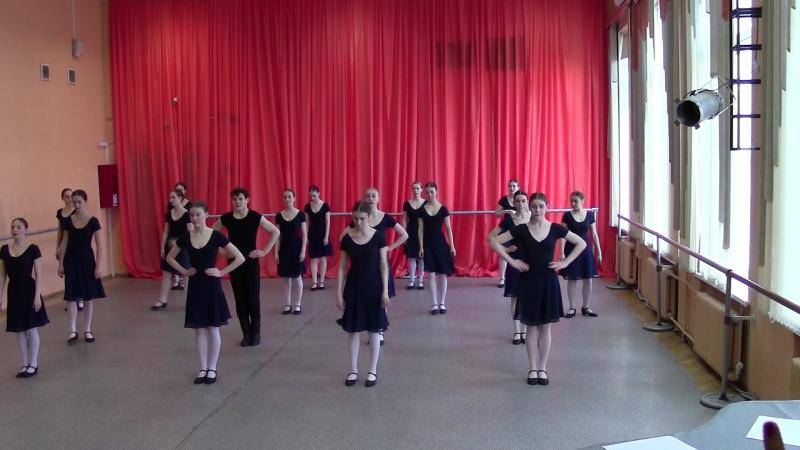 Народный танец 1 курс летняя сессия 2 часть
