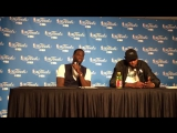 Draymond Green gets into it with a reporter when asked about his emotions on the court