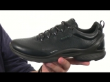 ECCO Sport Biom Fjuel. Мужские кроссовки из натуральной кожи. ECCO