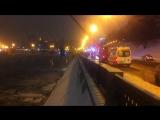 Девушка на машине улетела в Москва-реку