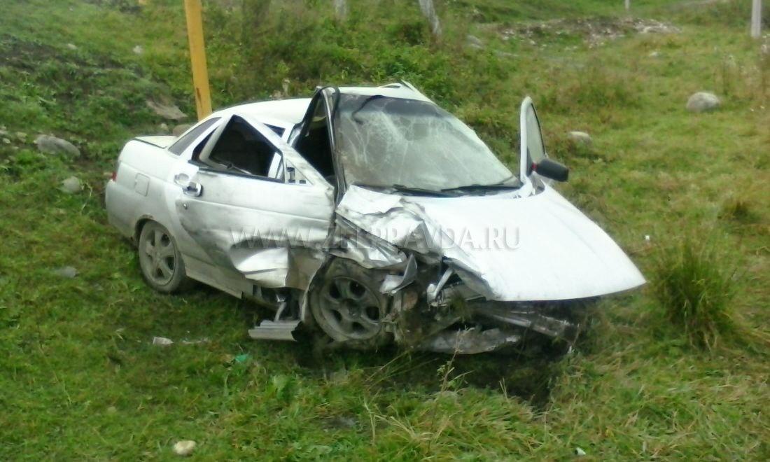 В Даусузе столкнулись два автомобиля