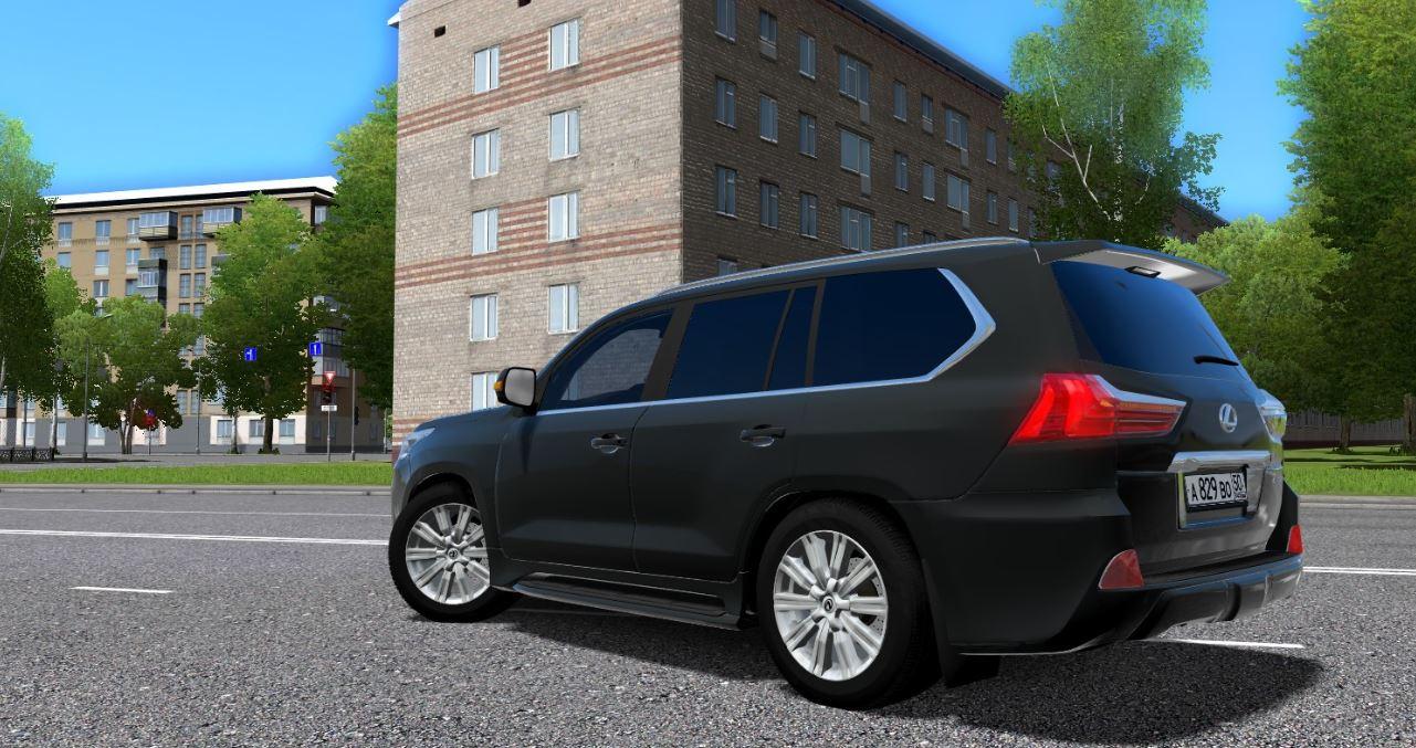 city car driving :: topic: lexus lx570 - 1.5.3 (1/2)