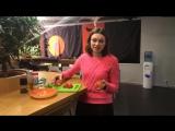 #деньповара прекрасная Анна готовит салат