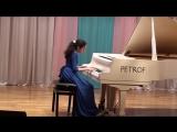 20 мая 2017 г.. Фрагмент сольного концерта Назрин Оруджовой (6 класс). Ц. Кюи ВАЛЬС.
