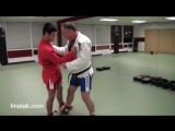 БИЕО Sambo - Uki goshi throw to arm bar and wrist lock