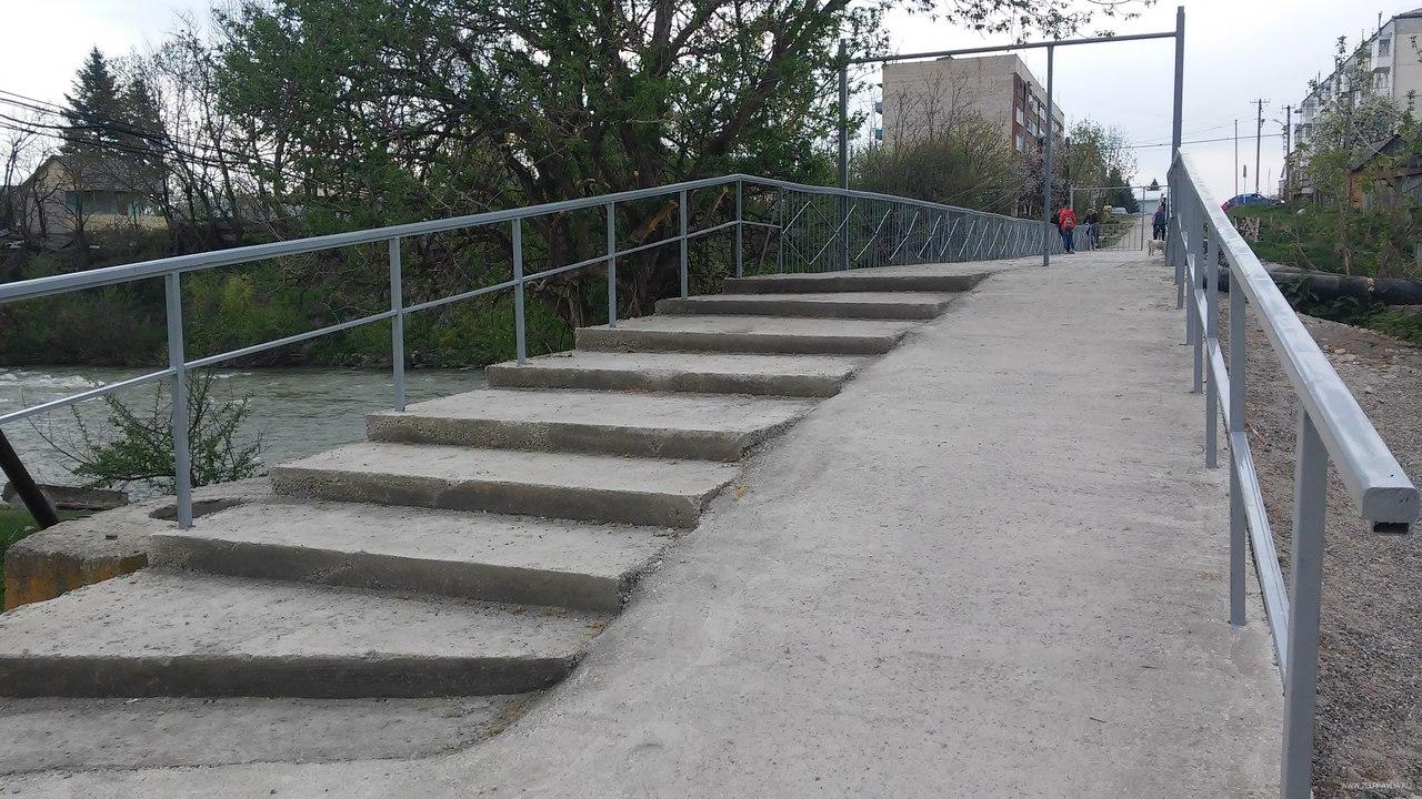В станице Зеленчукской завершен капитальный ремонт «старого моста»