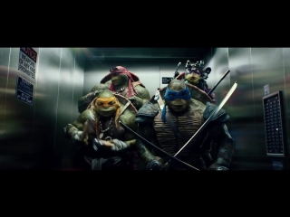 TMNT_Прикол_в_Лифте_PARTY_HARD__gif_amp;_video_31