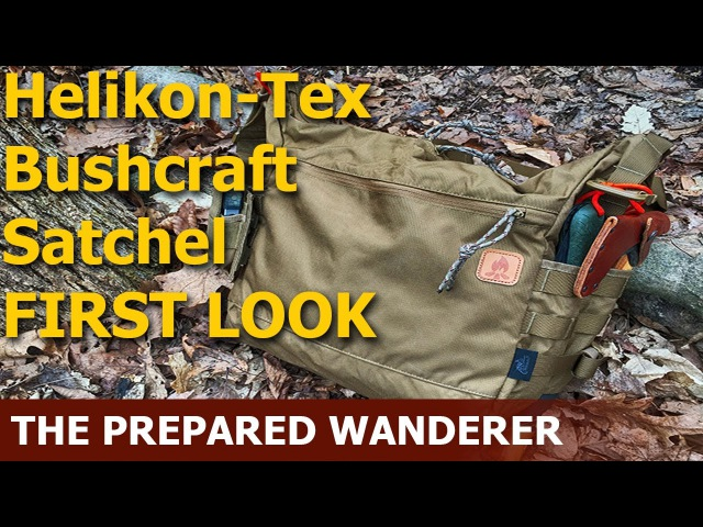 Helikon Tex Bushcraft Satchel First Look