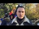 Александр Оршулевич на акции по Кёнигсбергу