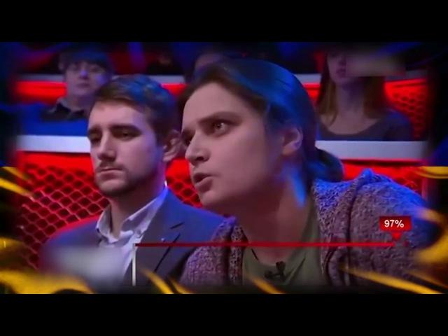 Активістка Євромайдану підірвала ефір розгромною промовою про владу в країні