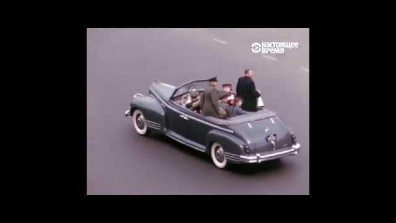 Москва в 1953 54 гг Съёмки советской жизни от американского майора Мартина Манхофа