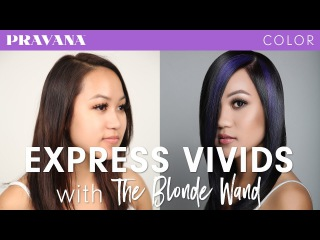 How-To   Express VIVIDS with THE BLONDE WAND