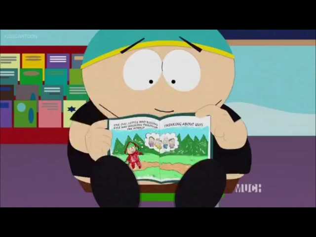 South Park- little red riding kyle