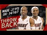 Throwback LeBron James &amp Dwyane Wade Full Highlights vs Hawks (2011.01.18) - 61 Pts Total