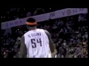 Kwame Brown Scored AMAZING Shot Over Tyson And Dirk 05.02.2011