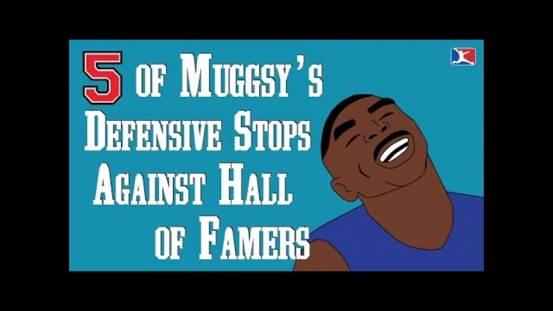 5 of Muggsy Bogues' Defensive Stops Against Hall of Famers